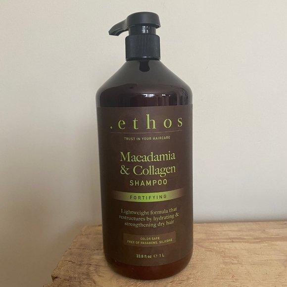 Ethos Shampoo-Macadamia & Collagen-Jumbo 33.8 oz